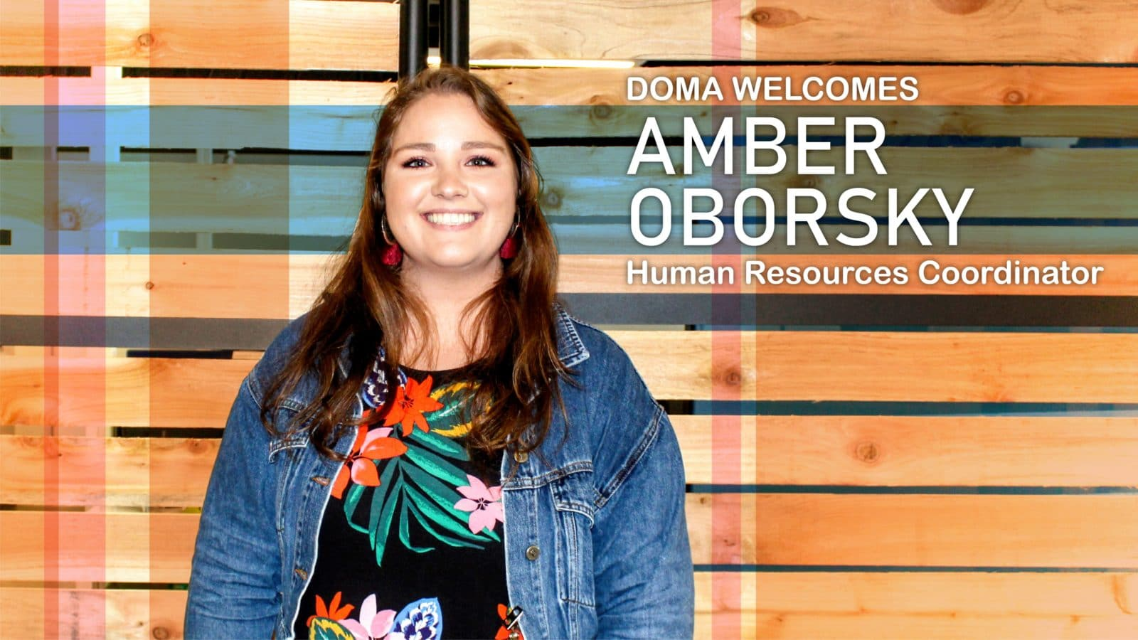 New Human Resources Coordinator Amber Oborsky