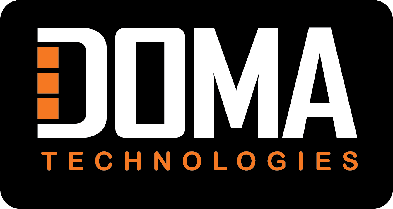 DOMA Technologies Logo Black Background