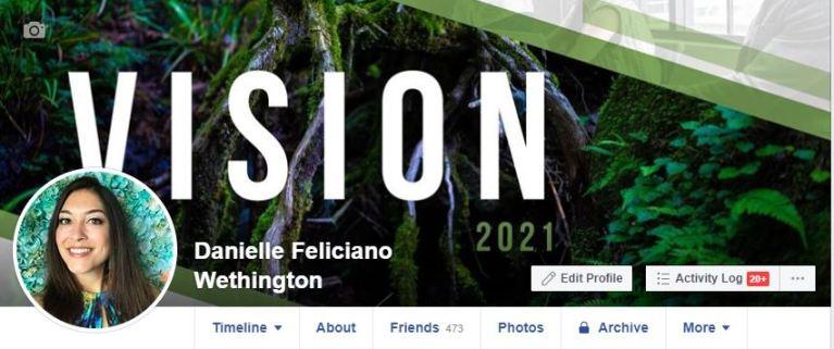 Vision 2021 Danielle Wethington