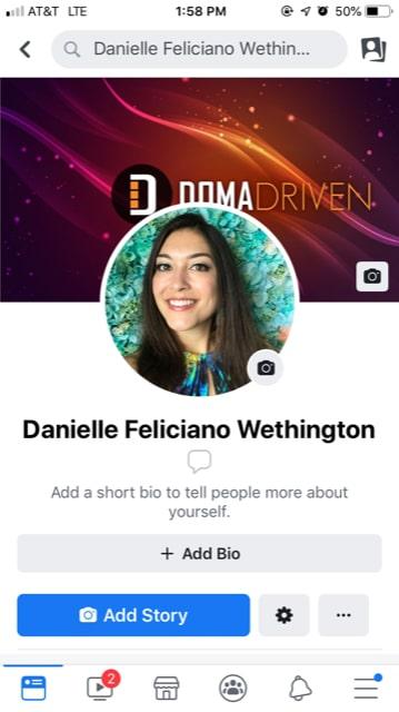DOMA Driven Danielle Feliciano