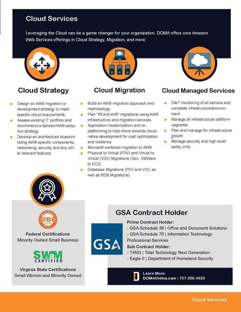 Cloud Services Brief Page 3