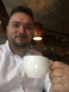 кофе эгг-ног в Кофемании