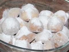 Снежни топки с локум