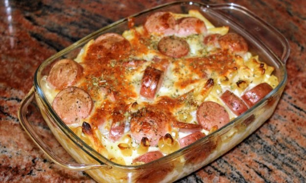 Закуска, салата, ястие и десерт с паста/макарони/