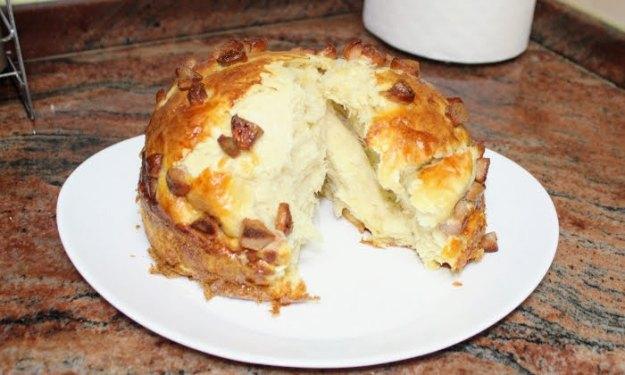Вкусна и лесна закуска с домашно тесто