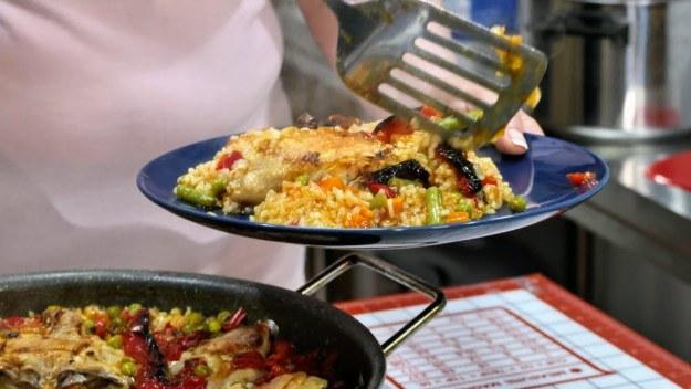 Ориз със зеленчуци и пилешко месо
