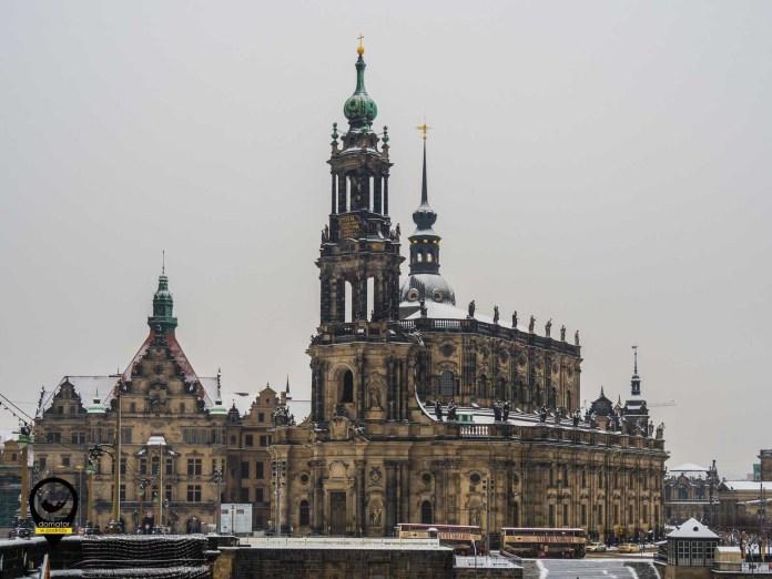 Katedra Świętej Trójcy w Dreźnie - Kathedrale Hofkirche