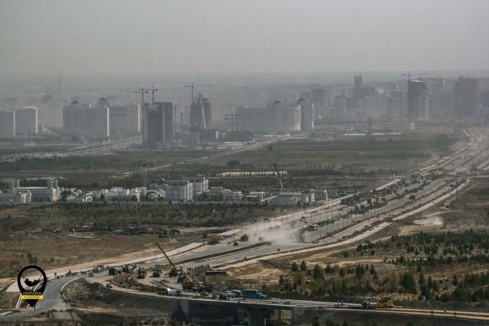 Panorama Aszchabadu