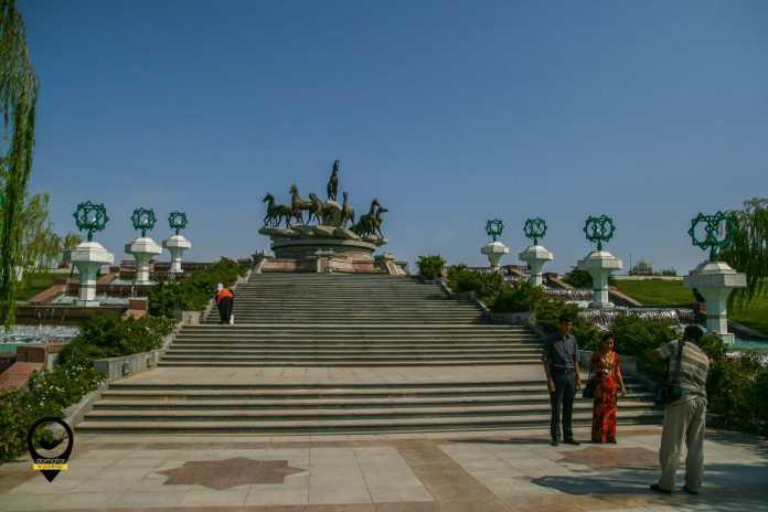 Park Niepodległości, Aszchabad