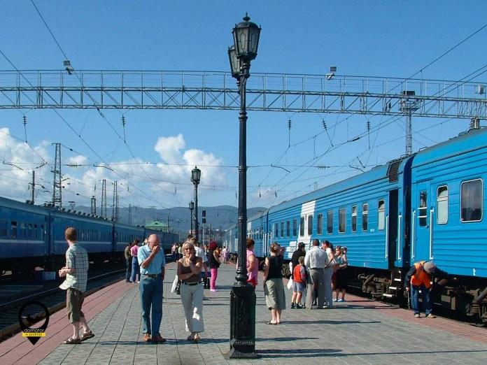 Postoje na trasie kolei transsyberyjskiej