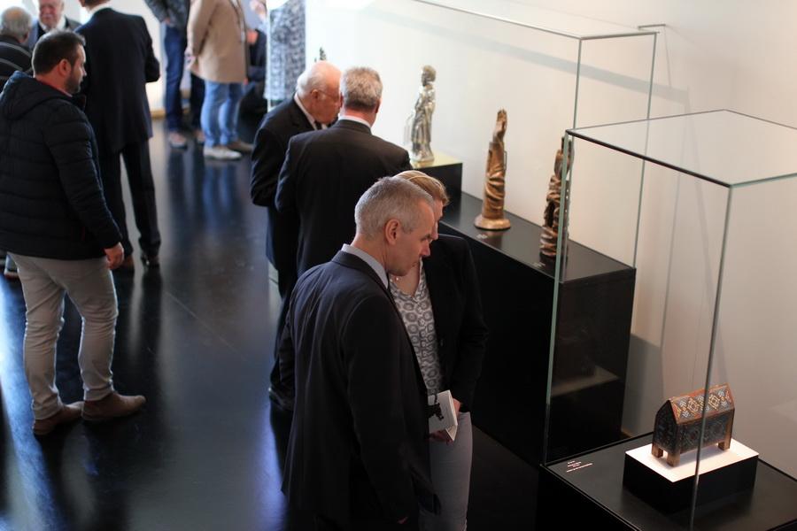 Der neugestaltete Domschatz Minden verzeichnete in den ersten zwei Monaten nach Wiedereröffnung rund 1200 Besucherinnen und Besucher. Foto: DVM