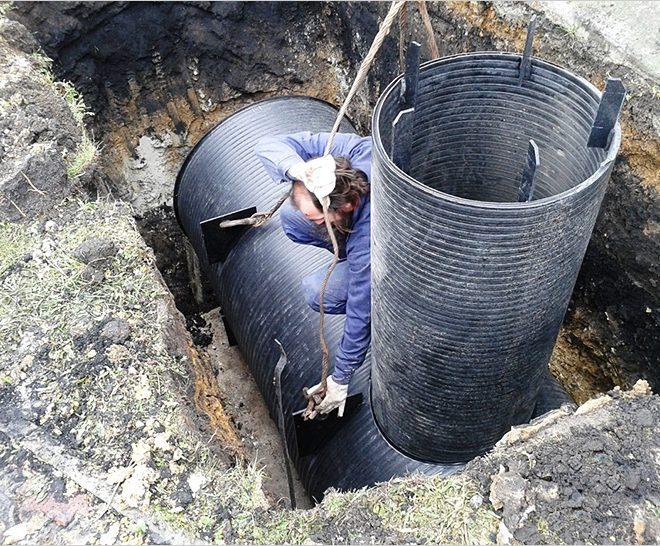 Самая современная канализация для частного дома. Локальная канализация загородного дома: сравнительный обзор очистных сооружений. Установка колодца с фильтрационным дном
