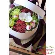 Коробка с цветами «Праздник»