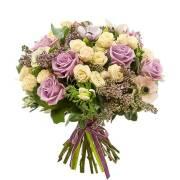 нежный букет из роз