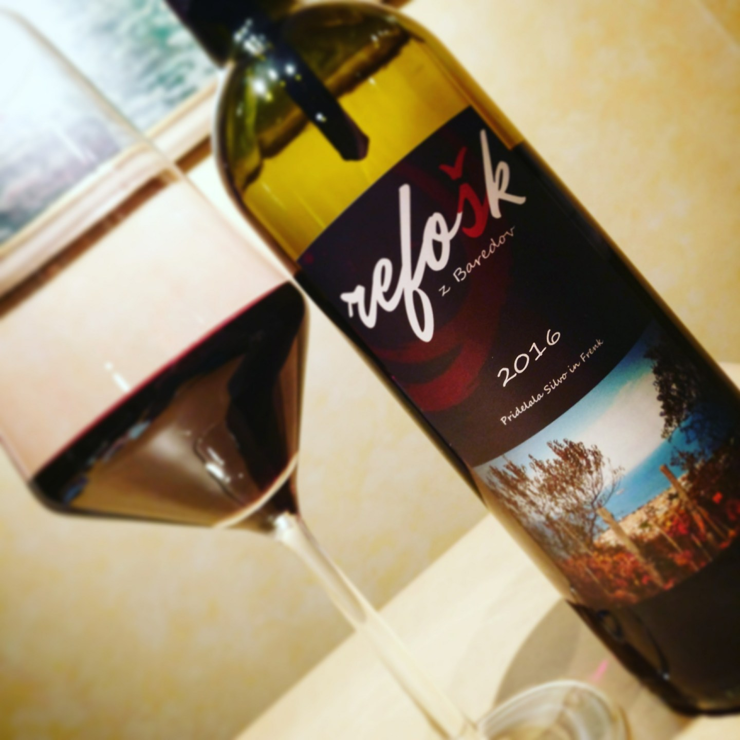 Weekly Wine #6 – My uncle's fantastic refošk