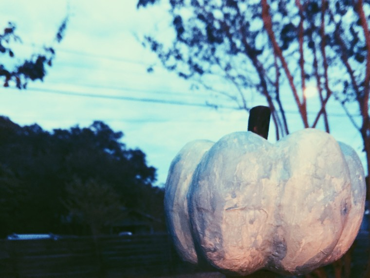watercolor look painted pumpkin how-to