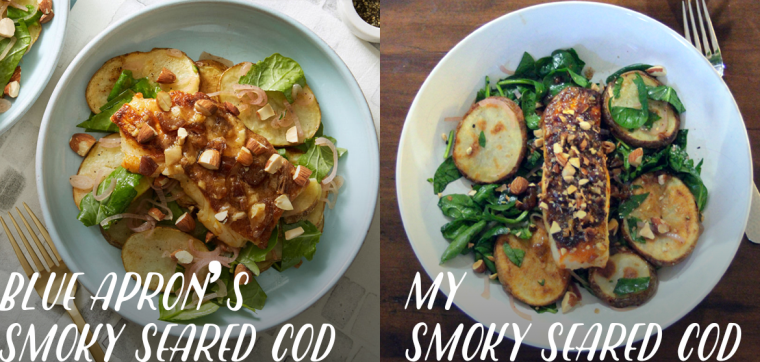 Blue Apron Smoky Seared Cod Review