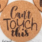 How To Make Custom Cork Trivets Domestically Creative