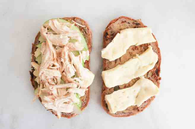 Roast-Chicken-Apple-and-Brie-grilled-cheese-step-4