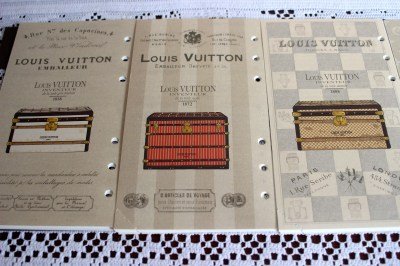 Louis Vuitton 2014 Trunks and Locks Agenda Refill Review