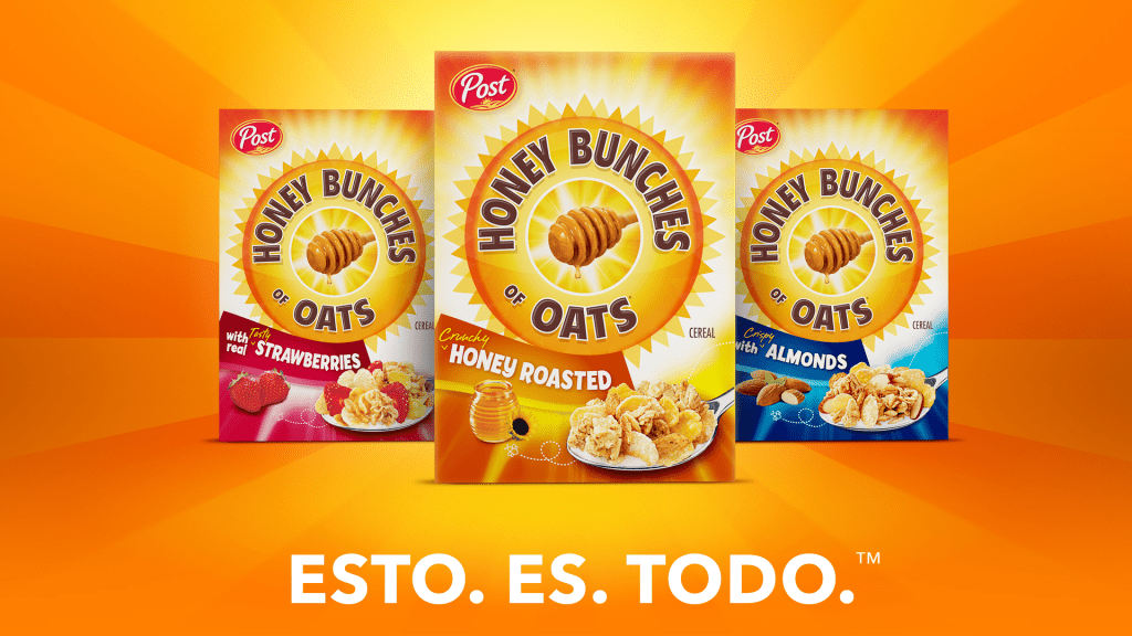 Honey Bunches of Oats Esto Es Todo