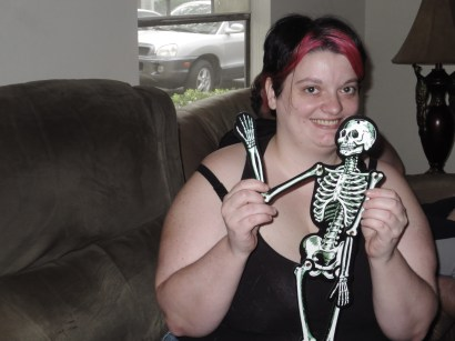 paper skeleton