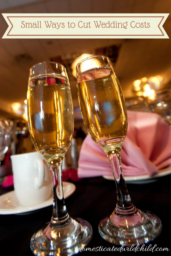 Small Ways to Cut Wedding Costs