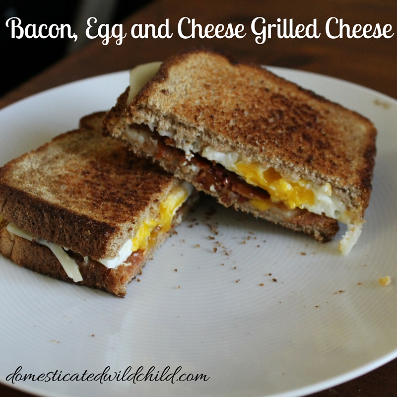 Bacon, Egg and Cheese Grilled Cheese-2
