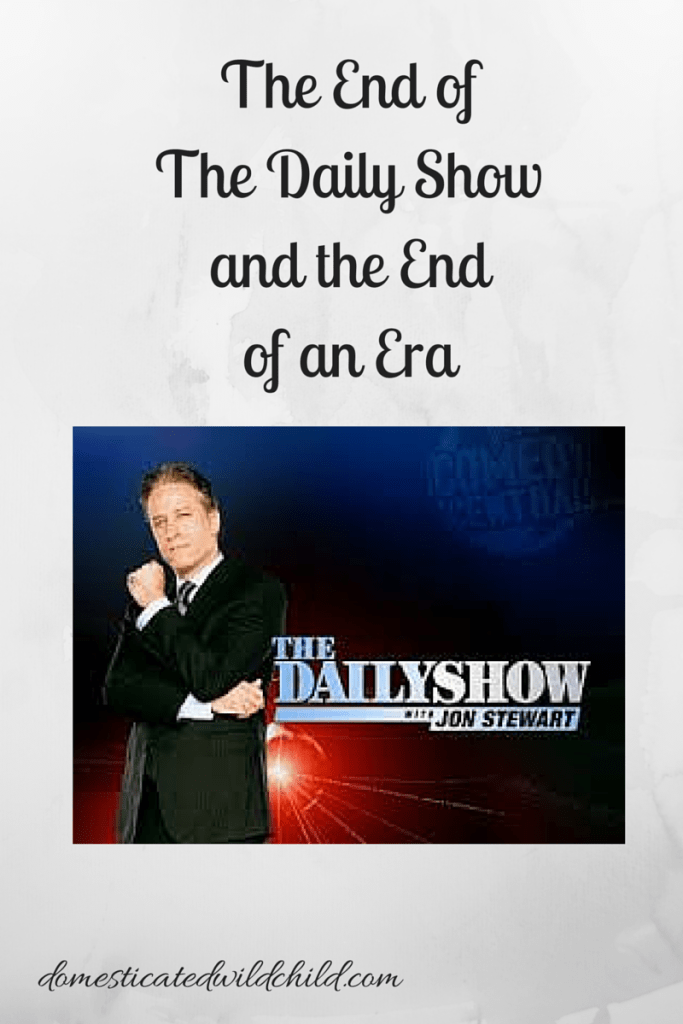 The End of The Daily Show and the End of