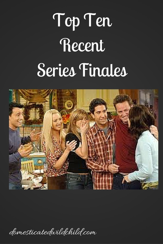 Top TenRecentSeries Finales