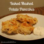 Baked Mashed Potato Pancakes