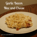 Garlic Bacon Mac and Cheese