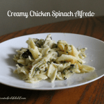 Creamy Chicken Spinach Alfredo