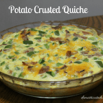 Potato Crusted Quiche