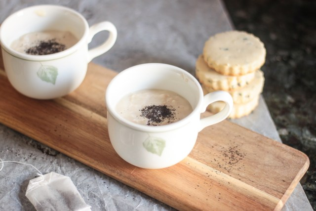 Earl Grey Pudding