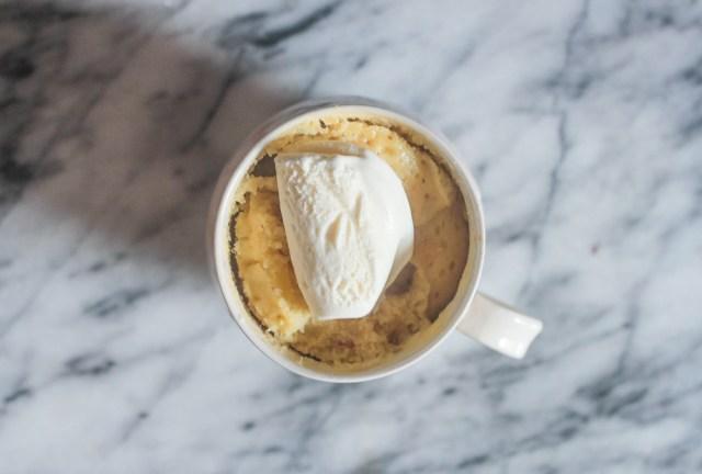 Tropical Mug Cake| Domestic Batch