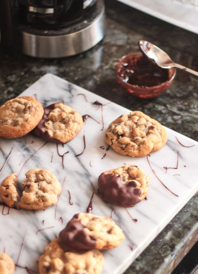 Nutty Chocolate Chip Cookies | Domestic Batch