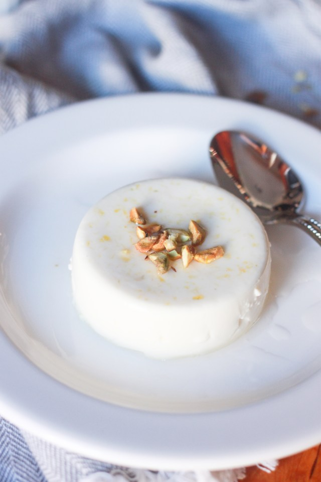 Lemon & Lavender Panna Cotta | Domestic B(i)atch