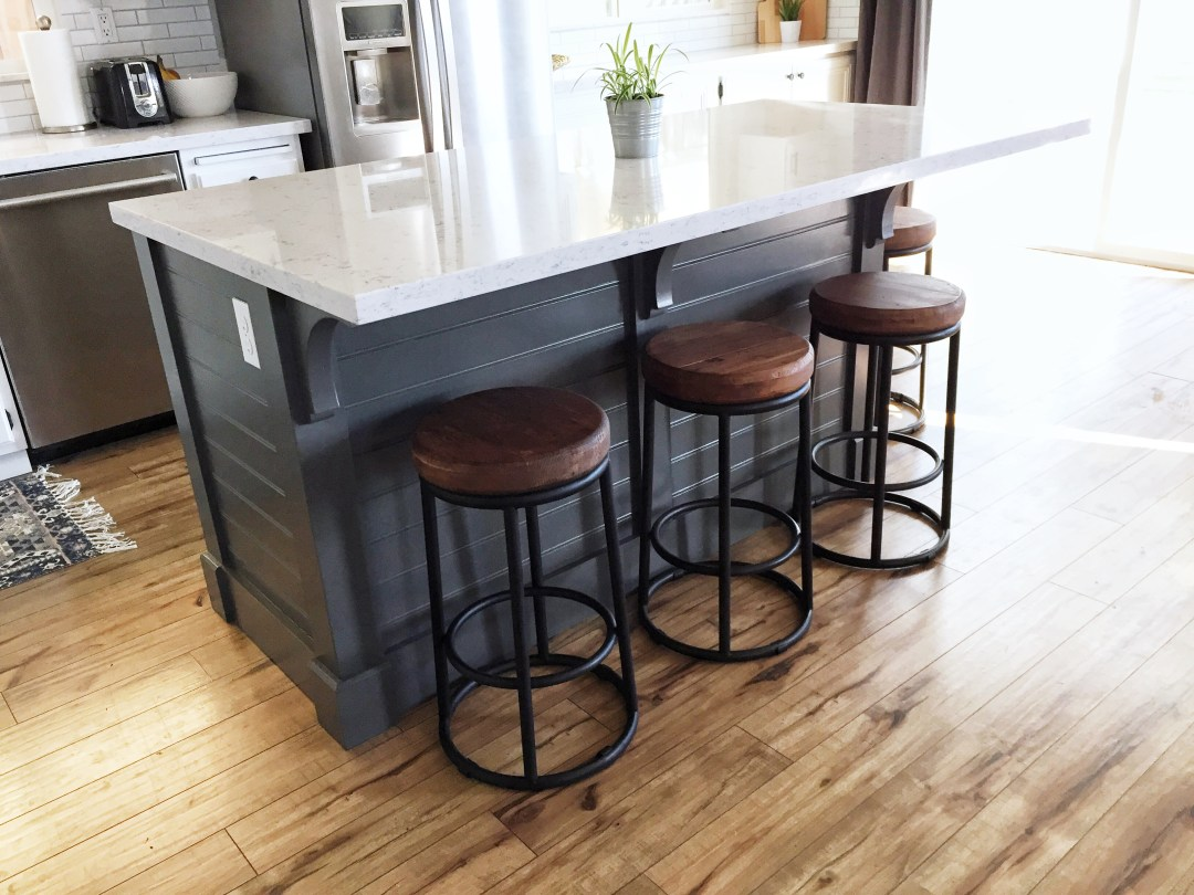 Kitchen Island- Make it yourself! Save Big $$$ - Domestic Blonde
