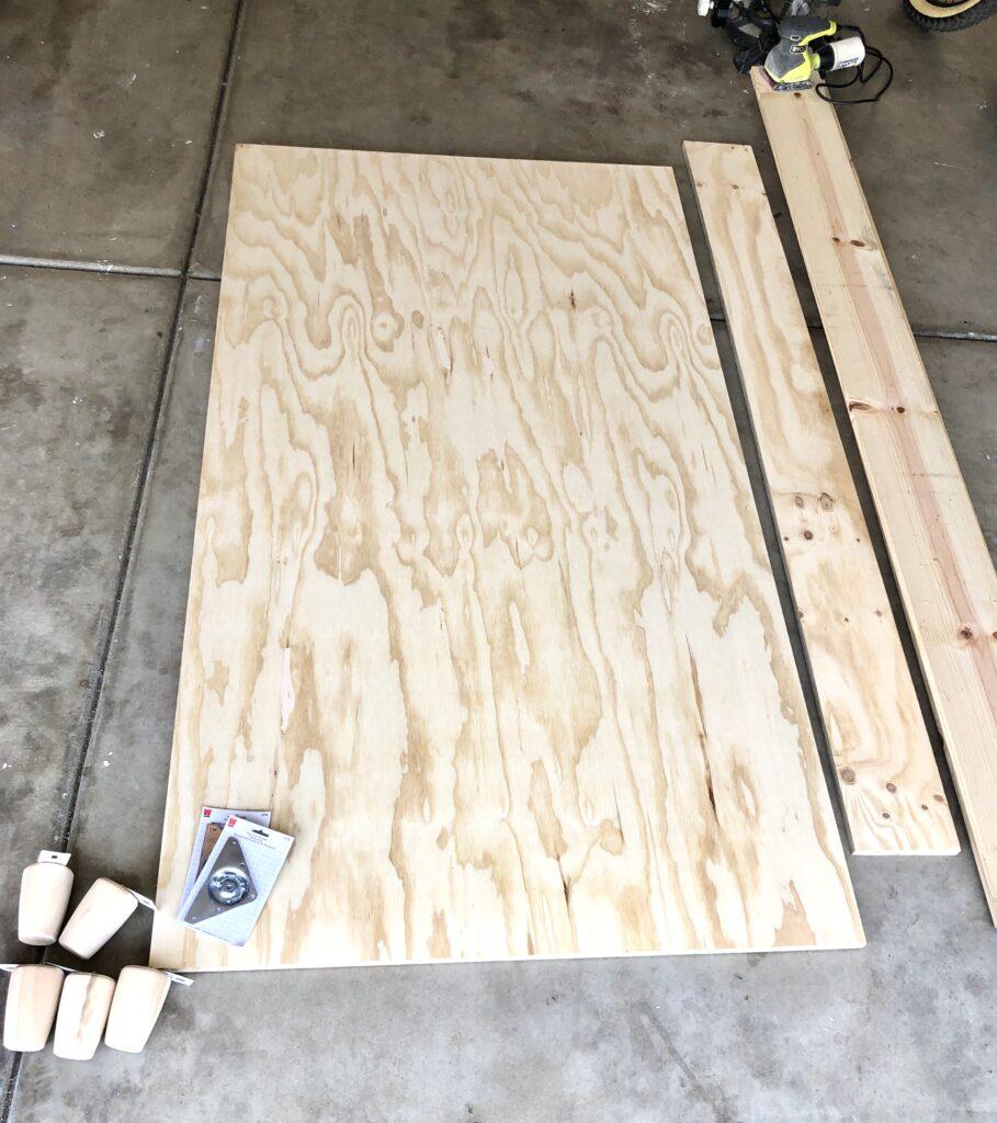 Easy Diy Twin Platform Bed Frame Tutorial Domestic Blonde