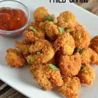 Crispy Cajun Fried Shrimp