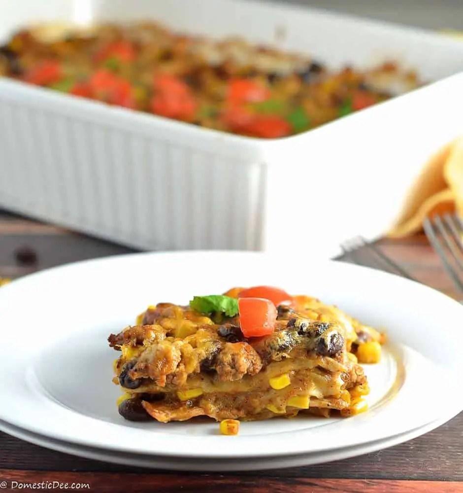 Mexican Tortilla Casserole