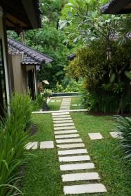 Into the villa