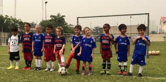 Aine's soccer team