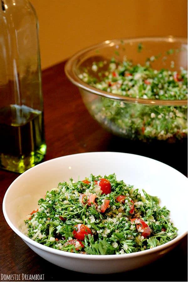 Finished quinoa