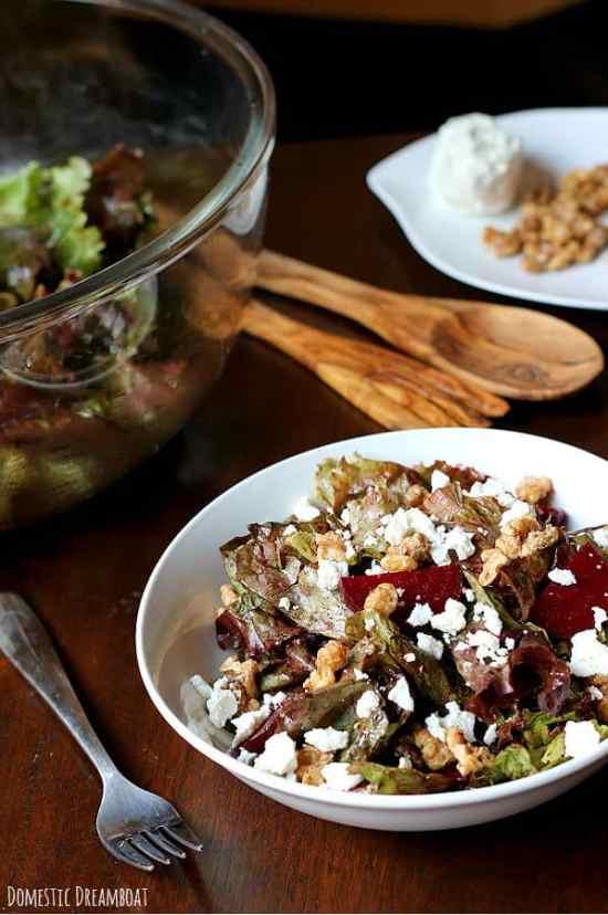 Roasted beet salad 2