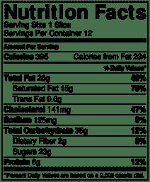 smores pie nutrition info