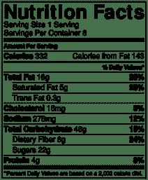 Sweet potato casserole nutrition info