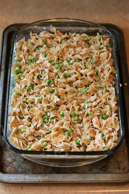 Salmon Noodle Casserole
