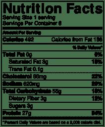 Dan Dan Noodles Nutrition Info